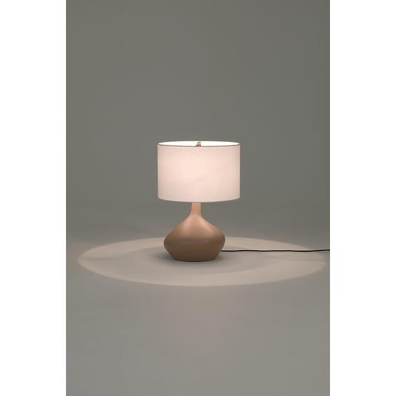 Postmodern asymmetric table lamp image