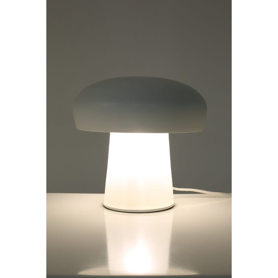 Postmodern frosted glass table lamp image