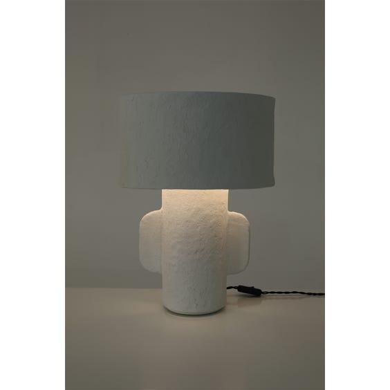 Postmodern lozenge shaped table lamp  image