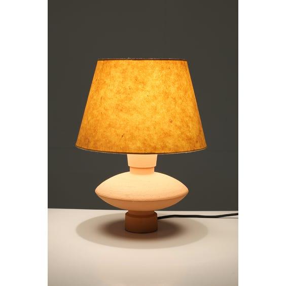 Postmodern disc table lamp image