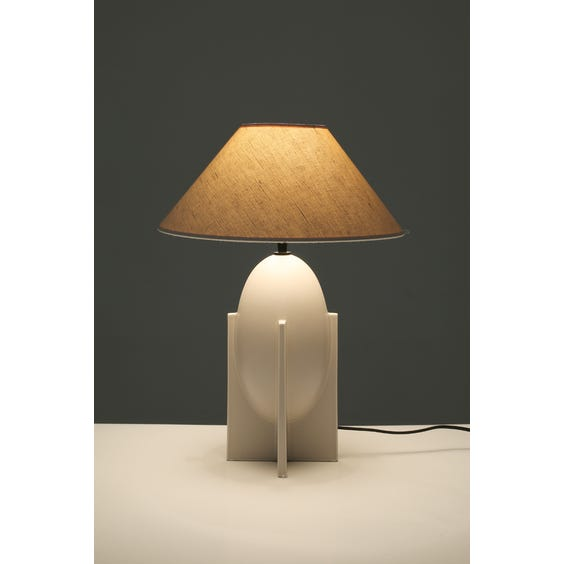 Postmodern rocket table lamp image