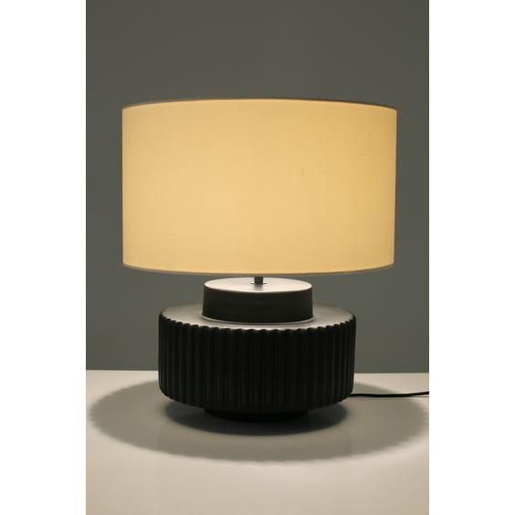 Postmodern cog shaped lamp image