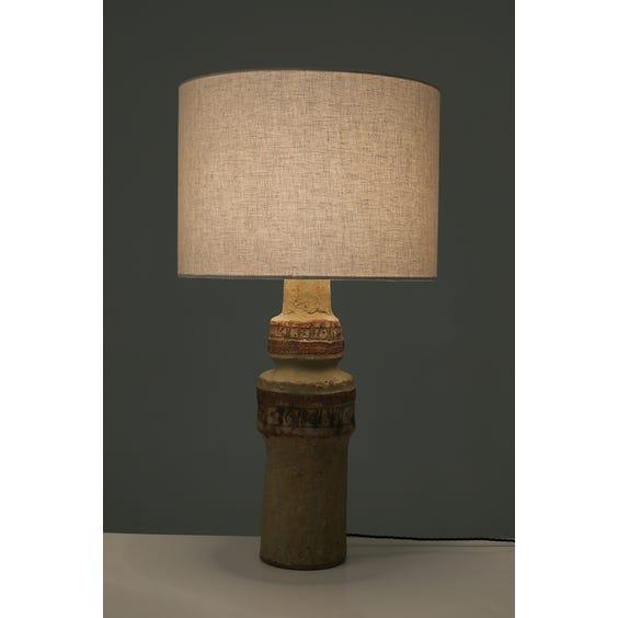 Stoneware Bernard Rooke lamp  image
