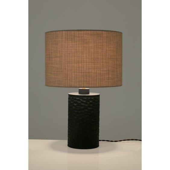 Modern artisanal table lamp image