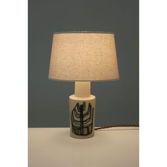 Danish abstract ceramic lamp image