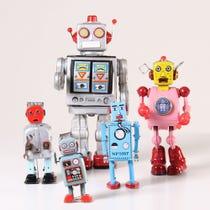 Example of tin toys