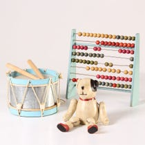 Example of wooden toys