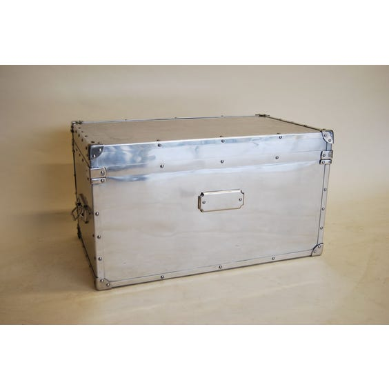 Large aluminium rectangular flight case image