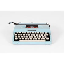 Duck egg blue Imperial typewriter