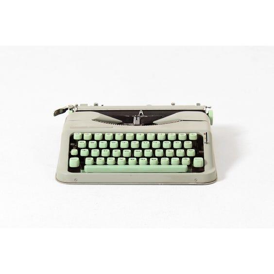 Vintage mint Hermes baby typewriter image