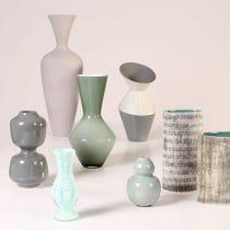 Example of grey vases